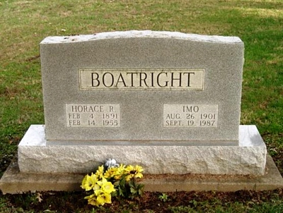 Horace Reginald Boatright Gravestone