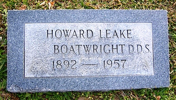 Howard Leake Boatwright Marker