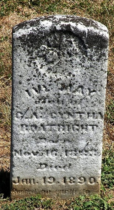 Ivy May Boatright Gravestone