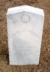 Jacob C. Boatwright Gravestone