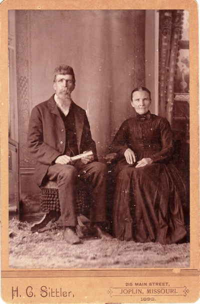 Jacob Gates and Clarissa Caroline Cook Boatright