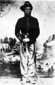 Jacob Gates Boatright in Civil War Uniform