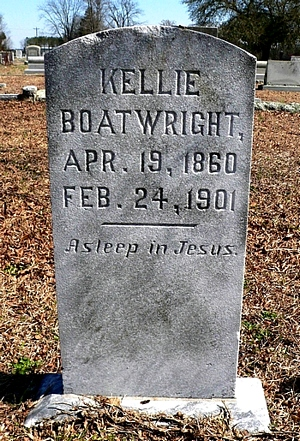 Jacob Kelly Boatwright Gravestone