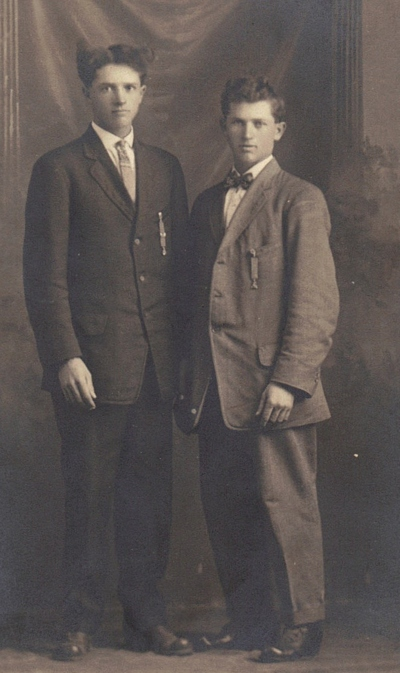 James Albert Boatright and brother William Nelson Boatright