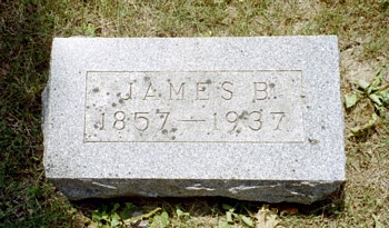 James B. Finley Marker