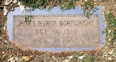 James Byron Boatwright Gravestone