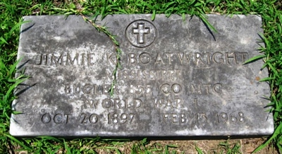 James K. Boatwright Gravestone: