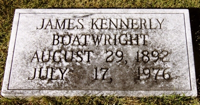 James Kennerly Boatwright Gravestone