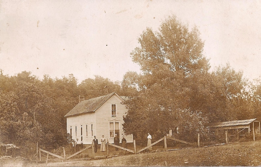 James Knox Polk Boatright Farmhouse:
