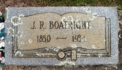 James Raleigh Boatright Gravestone