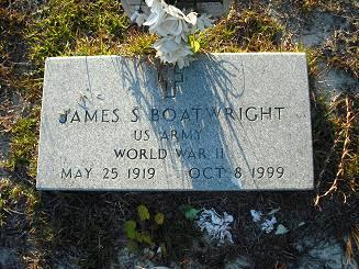 James S. Boatwright Gravestone