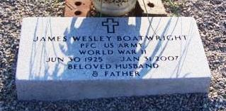 James Wesley Boatwright Marker