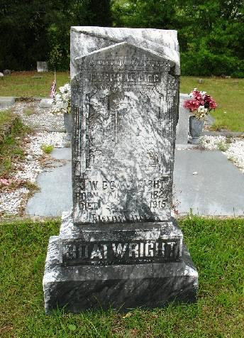 James William Boatwright Gravestone