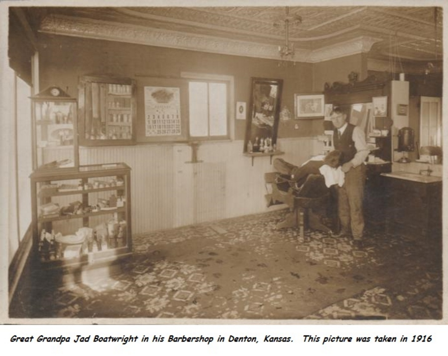 Jad Boatwright Barber Shop photos:
