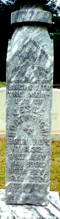 Jesse Captain Boatright Gravestone