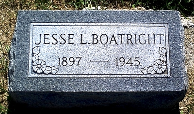 Jesse Lee Boatright Marker: