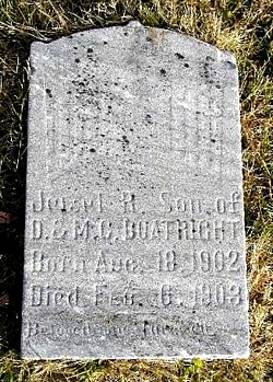 Jewell Randall Boatright Marker