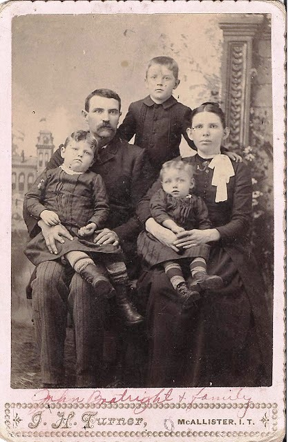 John Samuel Boatright Family
