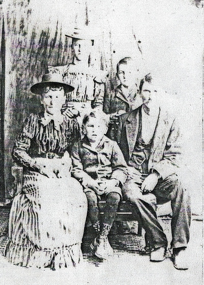 John Clark Boatright Family