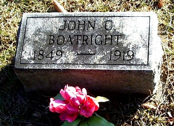 John Clayborn Boatright Gravestone