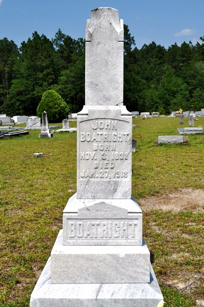 John Douglas Boatright Gravestone: