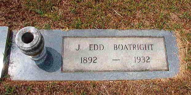 John Edward Boatright Marker