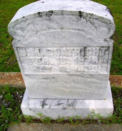 John Mitchell Boatright Gravestone