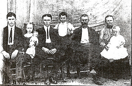 John Preston Boatright family