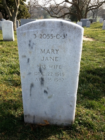 Mary Jane Redpath Boatwright Gravestone: