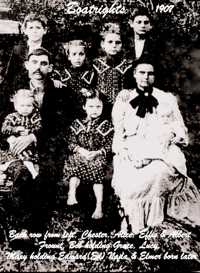 John Robert Boatright Family