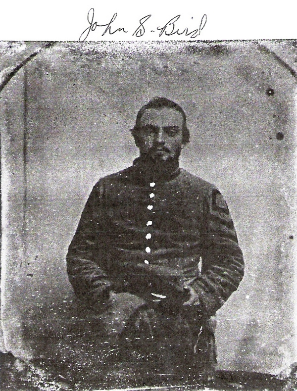 John Simmons Bird - Civil War Photo