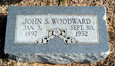 John Stallings Woodward Marker in Elmwood Cemetery