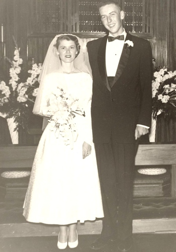 George and Juanita Beaty Boatright - November 10, 1956
