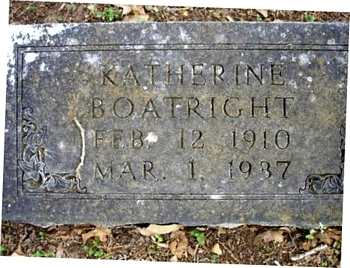 Katherine Boatright Marker