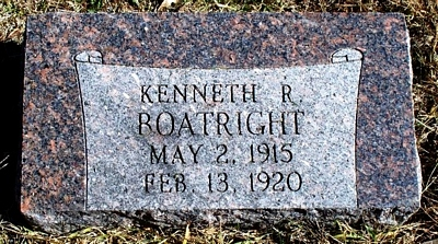 Kenneth R. Boatright Gravestone