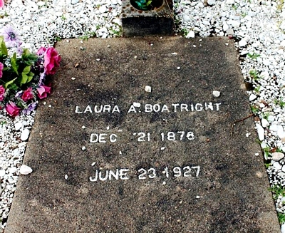 Laura Ann Wilson Boatright Gravestone