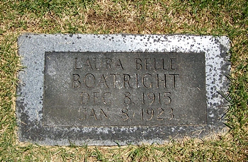 Laura Belle Boatright Marker