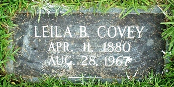 Leila Mae Boatright Covey Marker