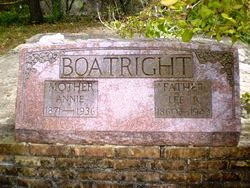 Lenearst Bolden and Anna Frances Williams Boatright Gravestone