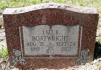 Leo Brooks Boatwright Gravestone