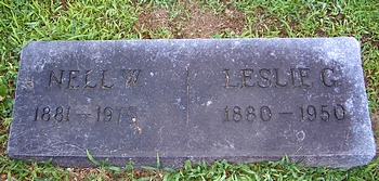 Leslie Greene and Nell Abner Walker Boatright Marker