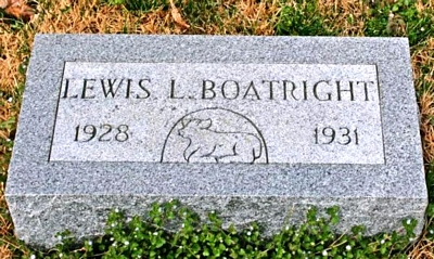 Lewis Lowery Boatright Marker