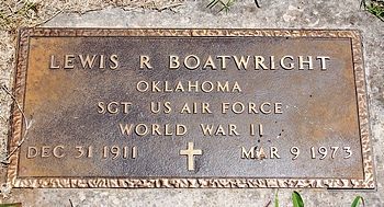 Lewis Russell Boatwright Marker
