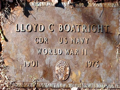Lloyd Cecil Boatright Gravestone: