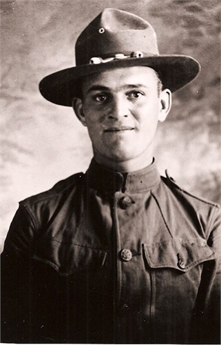 Lloyd Edward Boatright WWI