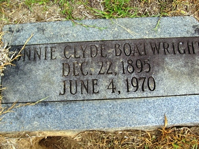 Lonnie Clyde Boatwright Gravestone: