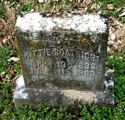 Lucinda Catherine Boatright Gravestone