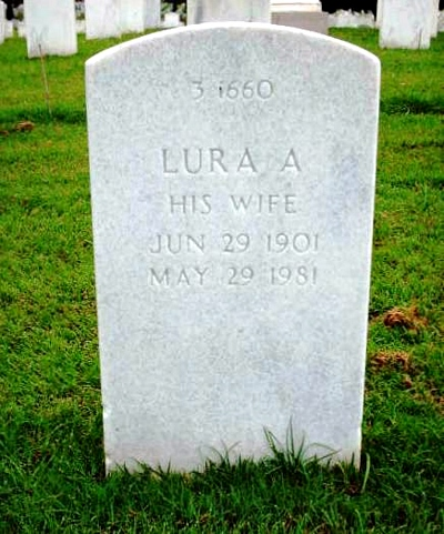 Lura Alice Boatright Gravestone
