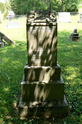 Malissa Hensley Boatright Gravestone
