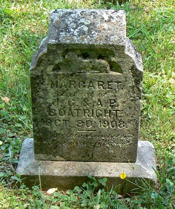 Margaret Boatright Gravestone